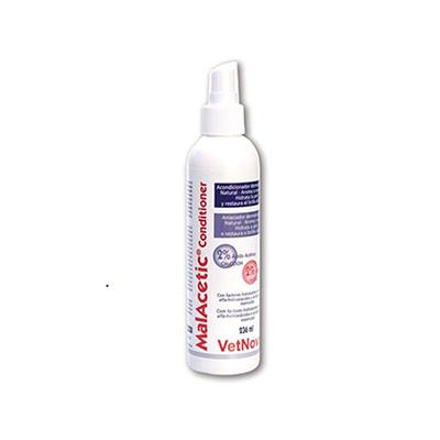 Solución dermatológica Malacetic para dermatitis y eczemas deVetNova