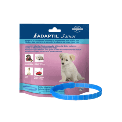 Collar antiestrés Adaptil Junior para cachorros