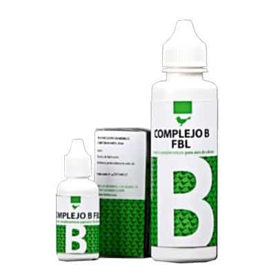 Complejo B con vitaminas B1, B2, B3, B5, B6 y B12