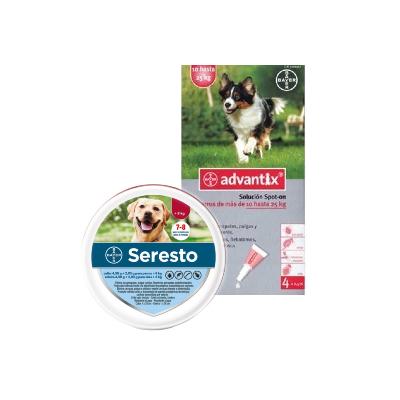 Pack Seresto + Advantix